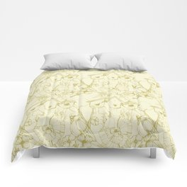 Spring Bird Comforters