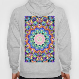 Abstract Spectral Pattern Hoody