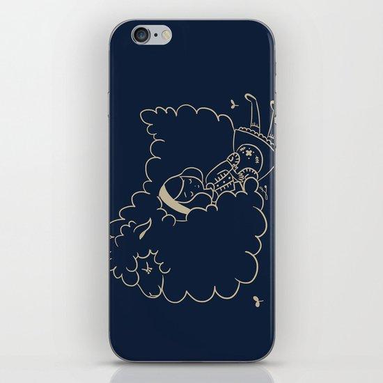Girl and sheep. iPhone & iPod Skin