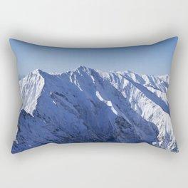 Mountines high... Rectangular Pillow