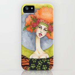 Jenny Manno Original Watercolor iPhone Case