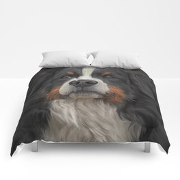 Bernese Mountain Dog Comforters