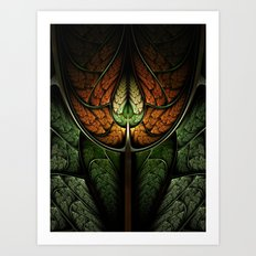 Elven Forest Art Print