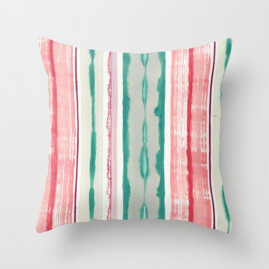 Canyon Stripe Throw Pillow