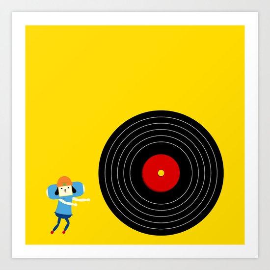 U Rollin' GOOD! Art Print