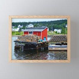 Fisherman's Shack Framed Mini Art Print