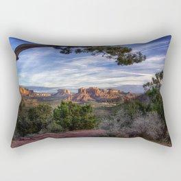 Red Rock Country - Arizona Rectangular Pillow