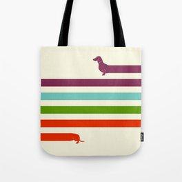 (Very) Long Dachshund Tote Bag