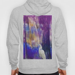 Egret in Dreamland - B Hoody