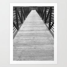Long View Art Print