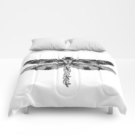 Lace dragonfly Comforters