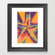 Tropical Star Framed Art Print
