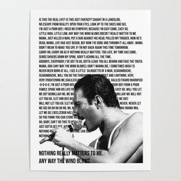 Bohemian Mercury Poster