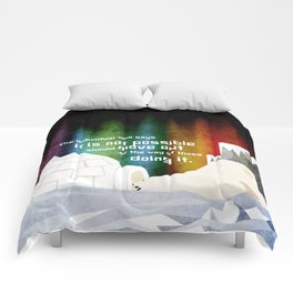 It is possible 1 Comforters