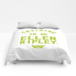Training to be Ellen Ripley Comforters