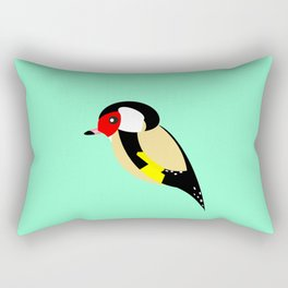 Goldfinch Rectangular Pillow