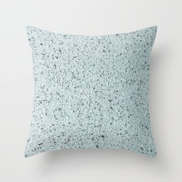 Terrazzo Teal Throw Pillow