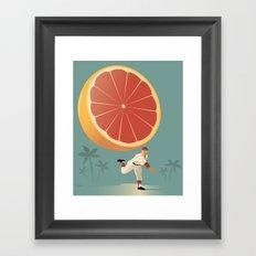 Grapefruit League Framed Art Print