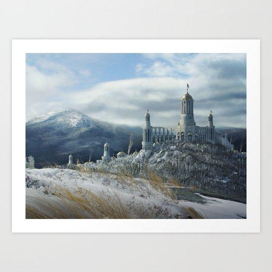 Drakensberg Castle Art Print
