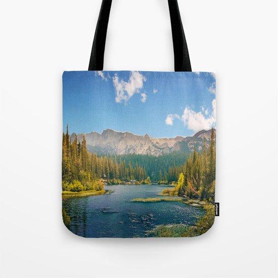 Penetrating in nature Tote Bag