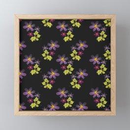 Flower mosaic flower 1 Framed Mini Art Print