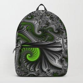 Fantasy World, abstract Fractal Art Backpack