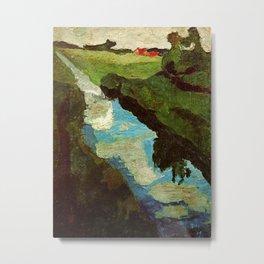 Landscape - Paula Modersohn-Becker Metal Print