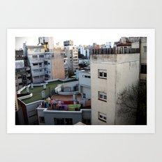 Urban Landscape 01 Art Print