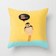 SCOLOPACIDAE BIRD Throw Pillow