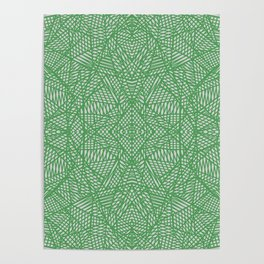 Ab Lace Green Poster