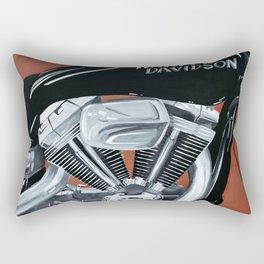 Harley Rider Rectangular Pillow