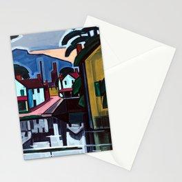 Oscar Bluemner Old Canal Port Stationery Cards