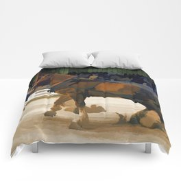 Pure Horsepower - Horse Pulling Event Comforters