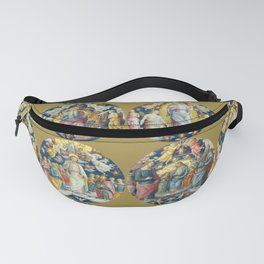 "Raffaello Sanzio da Urbino ""Ceiling Of The Stanza Dell Incendio Del Borgo"" Fanny Pack"