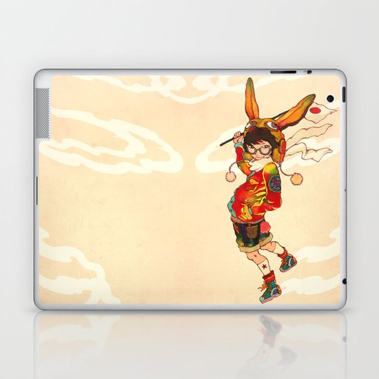 The land of the rising zine Laptop & iPad Skin