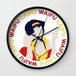 Waifu Laifu Anime Inspired Shirt Wall Clock