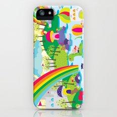 rainbow land iPhone (5, 5s) Slim Case