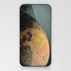 Where I Am (Vintage Globe) iPhone & iPod Skin