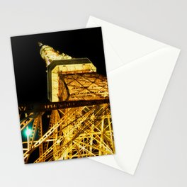 Nightly Tokyo Tower Stationery Cards