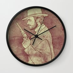 The Man with No Name Wall Clock