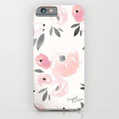 Sweet Blush Blooms Slim Case iPhone 6s