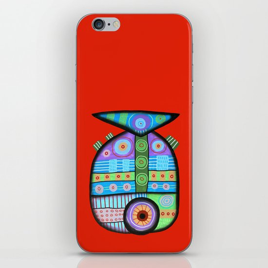 Fish which ate ship iPhone & iPod Skin