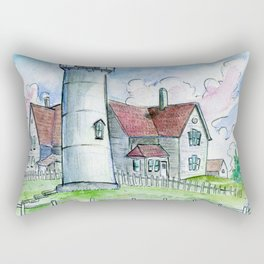 Nobska Lighthouse Rectangular Pillow