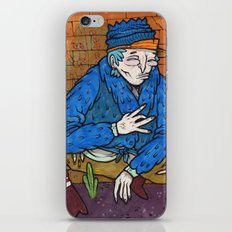PIMPIN IN BLOOD ALLEY iPhone & iPod Skin