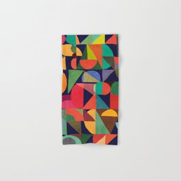 Color Blocks Hand & Bath Towel