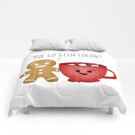 You Go Glen Cocoa! Comforters