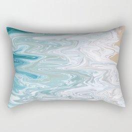 Life's a beach Rectangular Pillow
