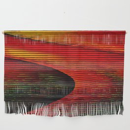 Abstract: travel to Mars Wall Hanging