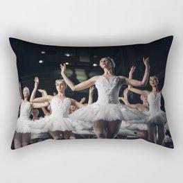 Classic Dance Black swan Rectangular Pillow
