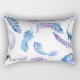 Magic Feathers  Rectangular Pillow